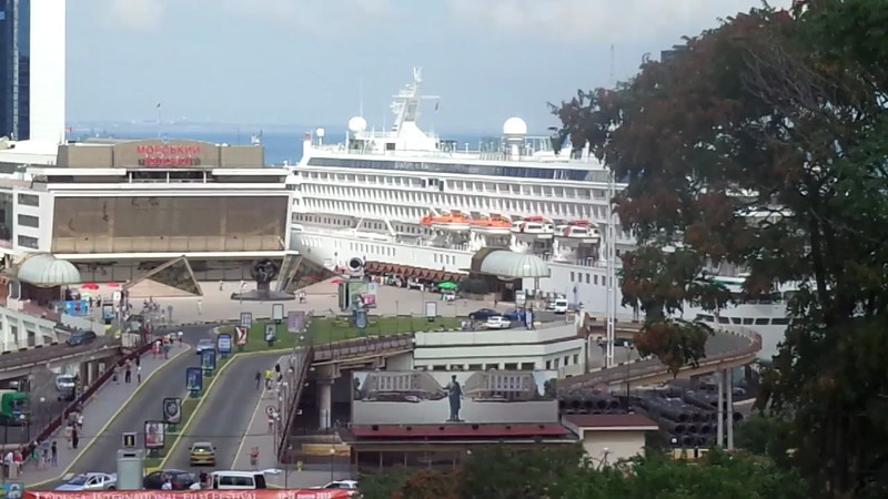 If you're wondering how close your Cruise ship will be to the main area of Odessa when you're here, then watch this video to get some Inside knowledge! :-)