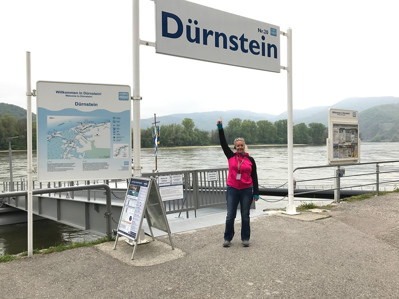After 2 wonderful days in Vienna we headed to Durnstein, Austria… what a cute little town this was!! :-)