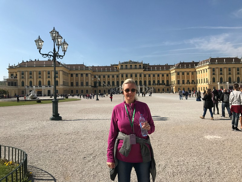 "A highlight in Vienna for sure was our visit to ""Schönbrunn Palace""!"