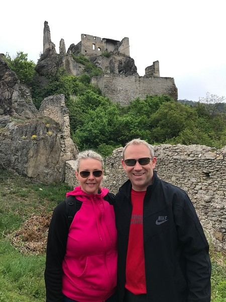"…up to the ruins of ""Kuenringerburg"" Castle where Richard the Lionhearted was held hostage during his Crusades."