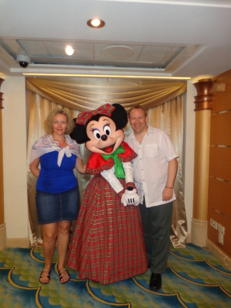 ...and of course whenever you see Mickey, Minnie is usually not too far away! :-)