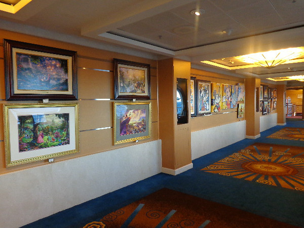 "Are you an Art lover... how about a ""Disney"" Art lover? If so, wait to get your next piece onboard so you can save the tax & duty that you'd pay online or at one of their parks."