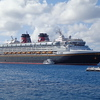 "There's a nice shot of the ""Disney Magic"", our home away from home during our 9 nights in the Caribbean & Bahamas."