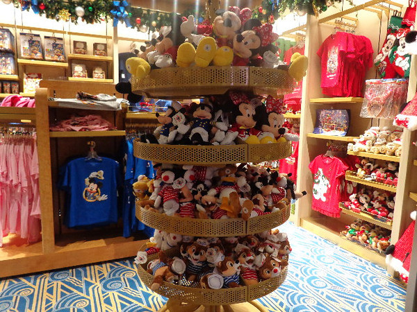 Of course no Disney Vacation would be complete without taking home a few souvenirs! :-) And on a Disney Cruise there's lots of opportunity to do so (again tax free) whether it be Disney toys, clothes, jewelry, pins, etc.