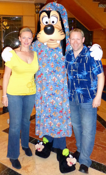 "We even got to see ""Goofy"" just before he ""hit the sack"" one night. :-)"