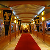 """One of the biggest highlights of a Disney Cruise is the amazing entertainment they offer onboard, especially in the """"Walt Disney Theatre"""".  We saw Toy Story the Musical, Disney Dreams, some variety & comical shows and on this night we walked the red carpet to see the """"Golden Mickeys""""."""