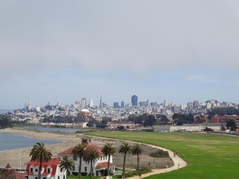 And the views of downtown San Francisco are pretty awesome too!!