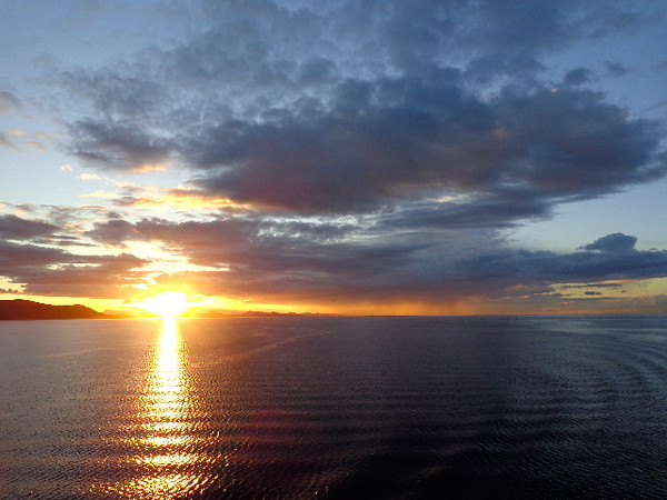 When Shawn's helping you book your Cruise and he tells you a Balcony is definitely the way to go if it's in your budget, he's not kidding... check out the Gorgeous sunsets you can experience at Sea from the privacy of your own room while enjoying a pre-dinner drink or appetizer!