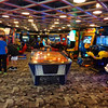 The onboard Arcade is a great place for the kids to enjoy some playtime on the Disney Wonder!