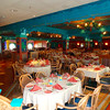 """There's the """"Parrot Cay"""" restaurant... if you've been to Disneyland or Disneyworld you'll notice a """"Tikki Room"""" theme. :-)"""