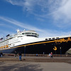"""There's a shot of our """"Home"""" during our 6 night sailing from Vancouver to LA... the """"Wonder""""ful Disney Wonder. :-)"""