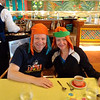 Did we mention it was a fun breakfast... they even had us done up as a Pirate & a Princess. :-)