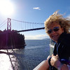 "A few days into our sailing we sailed under San Francisco's famous ""Golden Gate"" bridge as we checked out that great city! But 1st we got to check out Vancouver's own famous bridge, the ""Lions Gate""."