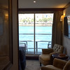"Here's a video of the room we stayed in, a 215 square foot top deck ""Category 1"" outside Balcony Stateroom."