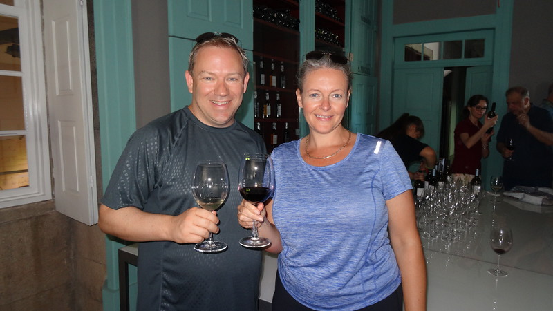 We got to try some of those wines too which definitely helped make it a great way to start our journey! :-)