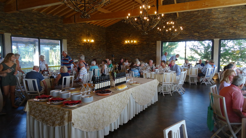...and to a fabulous dinner & entertainment to cap it all off.  It was definitely a great 1st day & a wonderful way to start our time on the Douro River!