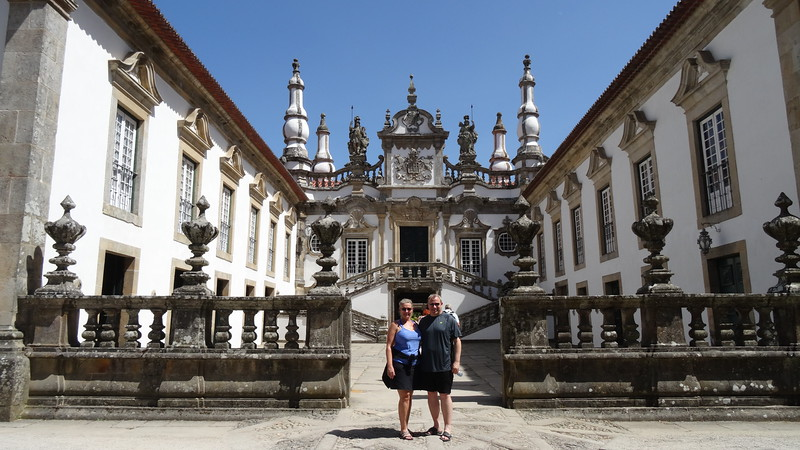 "Later that day after visiting the ""Douro ""Museum"" we drove through the country-side and enjoyed a stop at ""Mateus Palace""."