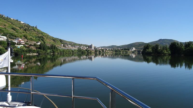 When we woke up onboard morning # 1, before we made our 1st stop, we were treated to fabulous views like this... we've sailed all but one of the Rivers in Europe and by far the Douro is one of the most scenic... absolutely gorgeous scenery all around as you sail up & down this intimate river!