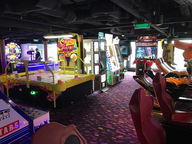 ...an Arcade...