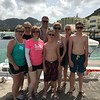 Of course, there's lots to enjoy off of the ship together too like snorkelling in St. Maarten!