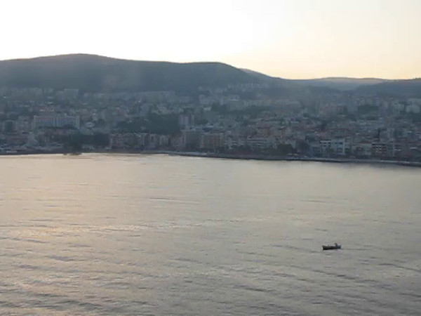 "Here's our 1st glimpse of ""Kusadasi, Turkey""... a jumping off point for ""Ephesus""... we have to say, this was a Port we were very excited to check out!!  Doesn't Turkey sound so Exotic!! :-)"
