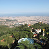 "We said the best views of Barcelona were to be had from ""Tibidabo Mountain""... we weren't lying!! :-)"