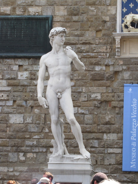"There's Michelangelo's Famous ""David"" Statue... okay, you're right, this is the replica in the Public Square and the original is in the ""Accademia Gallery""... but it is still impressive!! :-)"