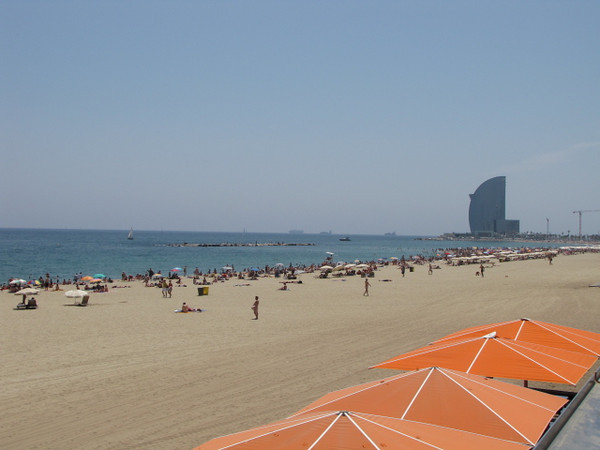 One thing Barcelona has lots of is Beaches and they're popular... and good weather is almost a given so bring your Bathing Suit. :-)