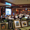 For you Art Buffs, Art auctions are popular on Ships and though it's not something we know much about we've been told there are good deals to be had so don't forget to bring your bargaining skills onboard with you. :-)
