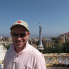 "Up on a Hill ""Park Guell"" has some great City views as Shawn's experiencing here."