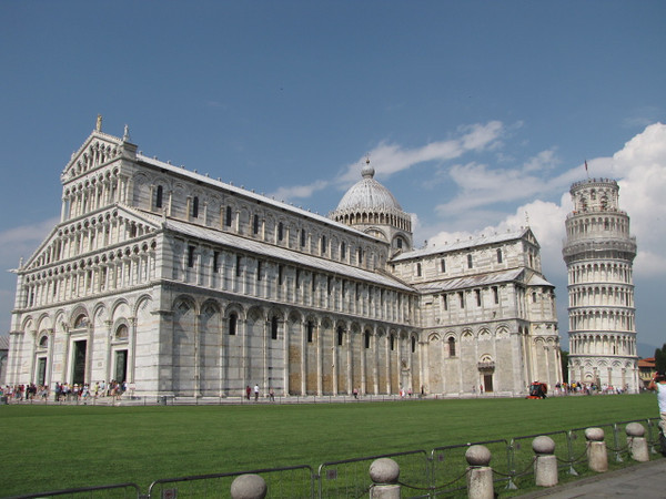 As you can see, there are other great structures in Pisa's Cathedral Square... a great place to explore and enjoy your afternoon!