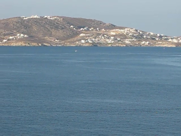 Here are our 1st views of Mykonos, Greece... can't wait to go check it all out! :-)