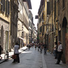 Like the other great cities & towns in Italy, Florence has the quaint side streets as well. :-)