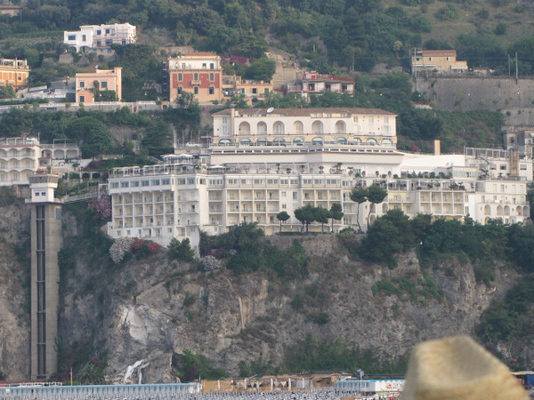 As soon as we got to Salerno we had a day Cruise lined up to take us up the Amalfi Coast to visit the town of Amalfi... check out these scenes along the way!!