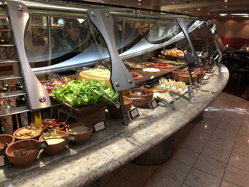"""Like all Brazilian Steakhouses that are served """"Churrascaria"""" style, there was a plentiful salad bar to get you going!"""