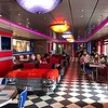"A great place onboard to grab a quick, tasty/comfort-food meal is at the 24hr Hour ""Cadillac Diner""!<br /> <br /> Whether it's 6am, 3pm, 3am (or whenever you're hungry) you can stop here for breakfast, a burger, wings, a sandwich, etc.<br /> <br /> FYI, even though the food is 100% free here you do pay extra for the shakes... they're super yummy though as you'll see in the next pic as was all the food we tried there!! :-)"