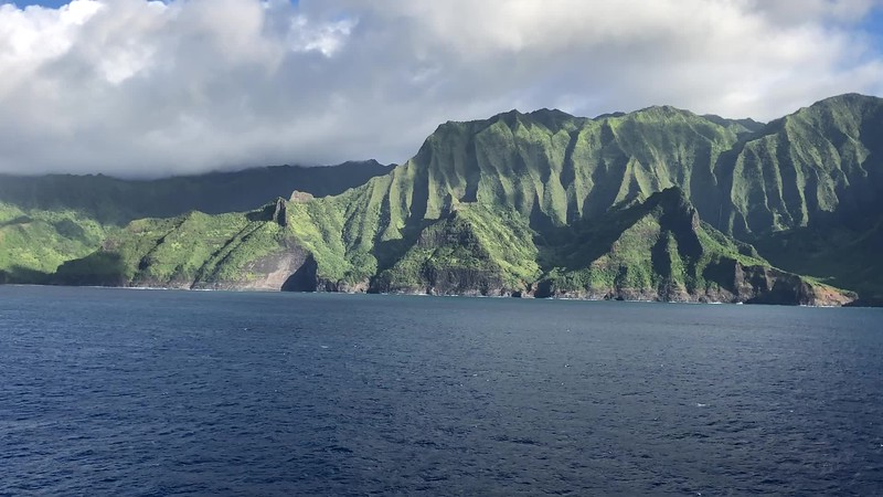 """Here's another example of some """"local flair"""" where a blessing was performed as we sailed the """"Napali Coast"""" (which is a true highlight of the trip!) where our Hawaiian Ambassador asked for """"safe passage"""" for us.<br /> <br /> Overall, we were truly impressed with how """"Immersive"""" this ship was into the local Culture as that's not something we normally experience when Cruising on big ships... that's something we normally only see when on a 5+ star small ship or on a River Cruise!"""