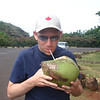 Drinking out of a coconut in Hawaii... life is good!! :-)
