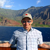 "Looks like Shawn is enjoying his time exploring the ""Na Pali Coast""!! :-)"