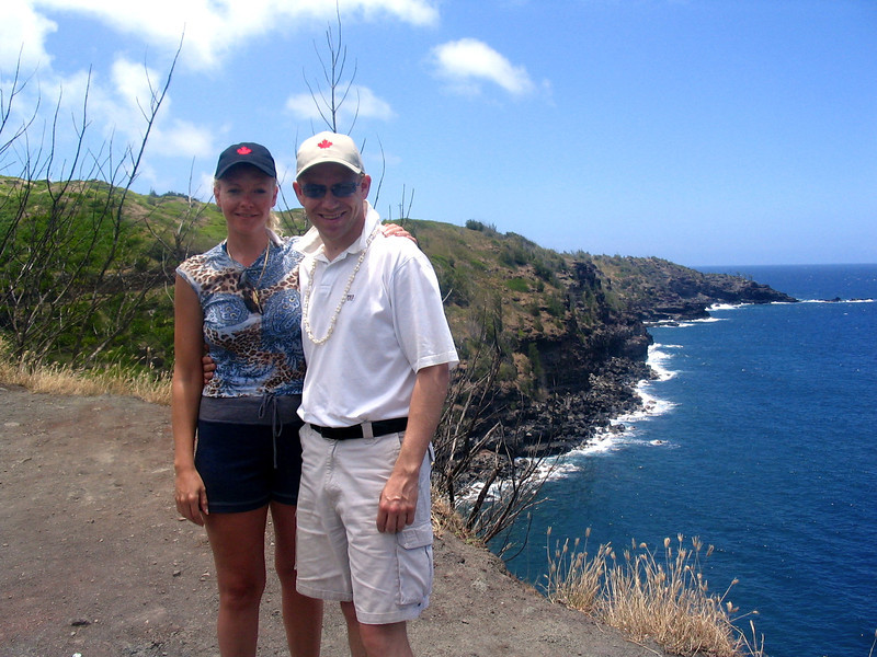 Check out that shoreline, Maui certainly is a beautiful Island!!
