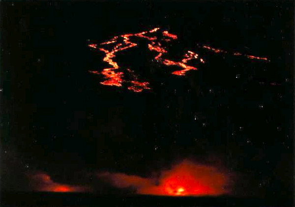 Remember we mentioned our amazing nighttime pics of the Volcano... well, thanks to our Captain for cruising by Kilauea that night, we had some amazing views of red hot lava spilling into the ocean!!