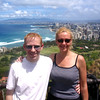 "In the last pic we mentioned that we hiked up Diamond Head and that the views were awesome... well, here we are at the top with Beautiful Waikiki Beach in the background.<br /> <br /> FYI, we did this hike again in 2011 and took some video during that hike which you can check out here: <a href=""http://nancyandshawnpower.com/a-video-of-our-experience-hiking-diamond-head-crater/"">http://nancyandshawnpower.com/a-video-of-our-experience-hiking-diamond-head-crater/</a>"