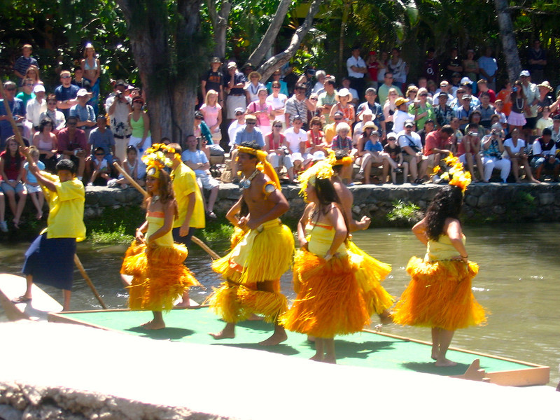 "On day 2 in Oahu we enjoyed the ""Polynesian Cultural Centre"" in the North Shore. This is a taste of the welcome that we received from the Polynesian people."