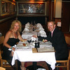 """Here we are at the """"Lazy J Texas Steakhouse"""", onboard the """"Pride of America"""" waiting the arrival of our Lobster and Porterhouse Steak. Ummm!! Bring it on! :-)"""