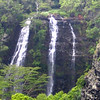 "Kauai is known as the ""Garden Isle"" thanks to it's abundant rainfall... which in turn creates these amazing waterfalls! :-)"