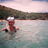 "Looks like Nancy had a great time snorkeling in ""Hanauma Bay""! :-)"
