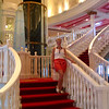 """Well, our 2nd day in Maui was a """"lazy day"""" for us where we stayed on the boat while docked in Beautiful Maui. It ended up being a great time though for us to get some pics of our """"home"""" for that week... there's Nancy in the Grand Atrium on NCL's """"Pride of America""""."""