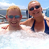 """Since we were just lazing around that day we figured it was a great time to enjoy one of the many hot tubs on board. Check out the views we had in the background.<br /> <br /> FYI, we spent a full week in Maui in 2011 enjoying the many things there is to do there... feel free to check out our blog posts of or time there at <a href=""""http://nancyandshawnpower.com/category/destinations/north-america/united-states/hawaii/maui/"""">http://nancyandshawnpower.com/category/destinations/north-america/united-states/hawaii/maui/</a> and get some great ideas for your next trip to Maui."""