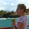 Looks like Nancy is Happy to be back in Kauai. We visited here last year and it was one of the highlights of our trip.