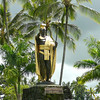 "There's one of the many Statues in the Hawaiian Islands of their famous ""King Kamehameha"". Say that 10X fast. :-)"